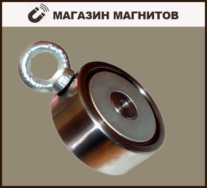 Поисковый двухсторонний магнит f200x2 - продажа в перми и пе.
